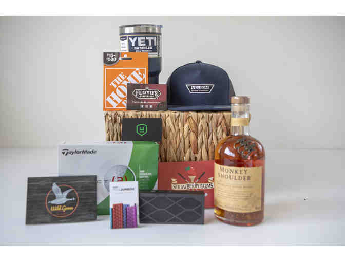 Dad's Day Out: Golf, Wild Goose, Whiskey and more!  Mr. Barney's Class Basket - Photo 1