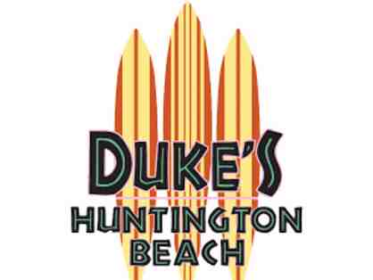 Food and Fun at Duke's in Huntington Beach - $25 Gift card