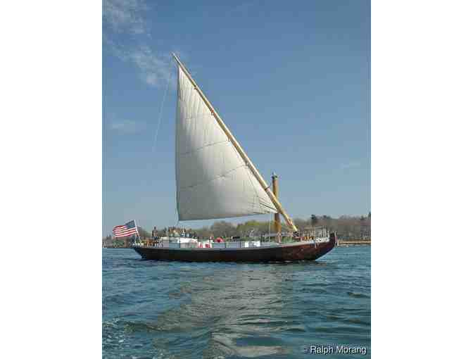 Gift certificate for 2 adult sunset sail passes on the Piscataqua River