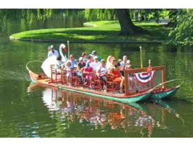 10 Tickets to enjoy the Swan Boats of Boston