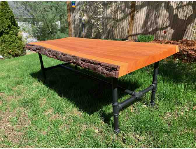 Hand-crafted Industrial-style Pine Coffee Table