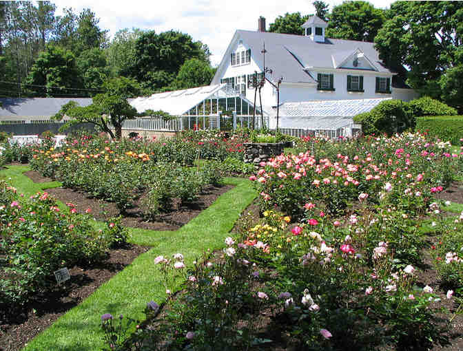 Membership for 2 to One of the Last Working Formal Estate Gardens, North Hampton, NH