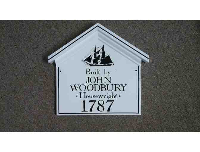 Historic House Marker from Ould Colony Artisans