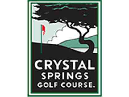 Crystal Springs Golf Course (Burlingame) -Foursome of Golf Monday-Thursday only