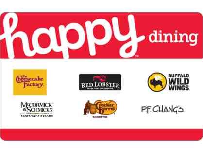 Happy Dining! Gift Card - $30