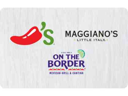 Chilis, Magiano's, On The Boarder Gift Card - $25