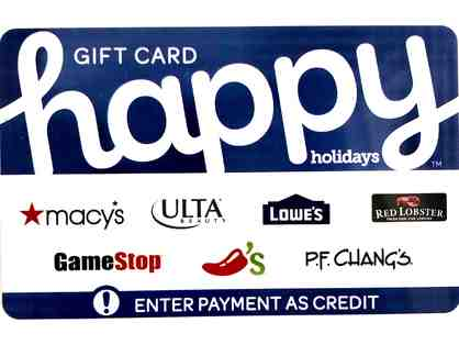 Happy Holiday Gift Card - $30