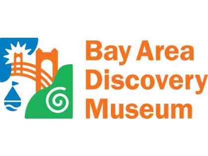 Pass to Bay Area Discover Museum