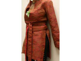 Silk Jacket with Obi Belt from Ibhana Creations