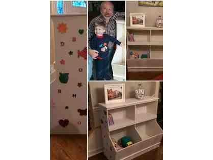 Bookcase or Toy Storage Project by Miss Lori T/Th Transitional 2s