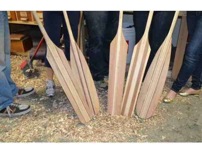 Paddle Making Class with Urban Boatbuilders - Photo 1