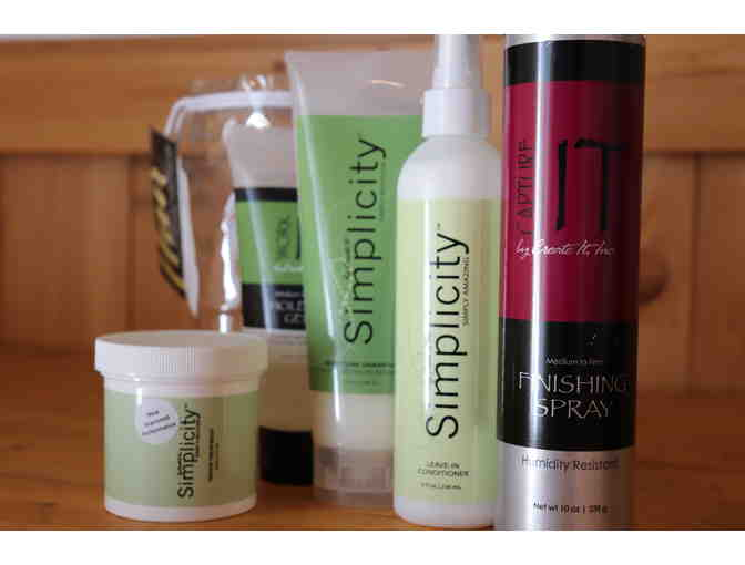 Hair Product Package from Sue's Hair Etc.