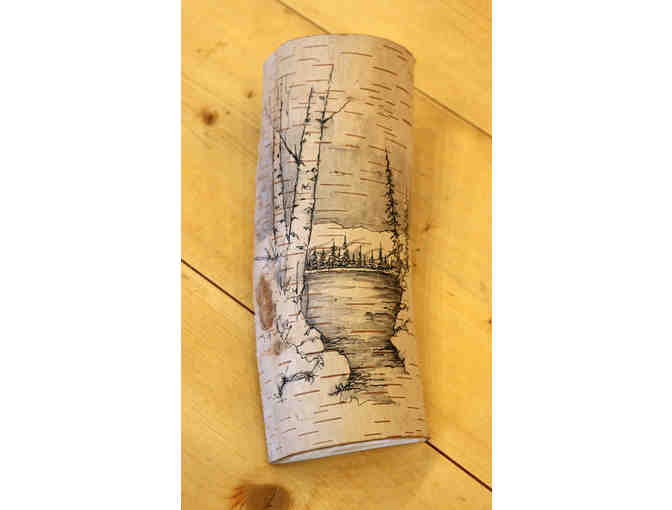 Pen and Ink Birch Wall Hanging from Studio North Graphics