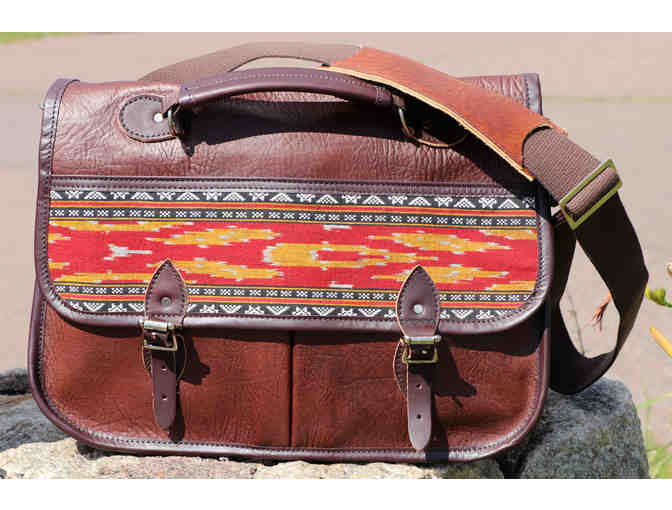 Handmade Bison Leather Bag from North 61