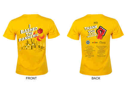 Bash The Pandemic T-Shirt: Size Small