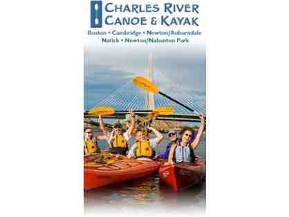 (1) Full Day of Boat or SUP Rental at Charles River Canoe & Kayak