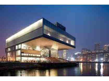 (2) Admission Tickets to The Institute of Contemporary Art