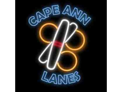 $25 Cape Ann Lanes Gift Card