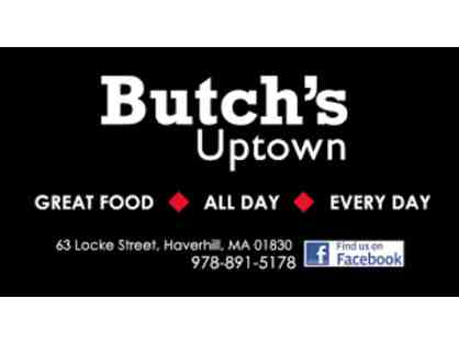 Butch's Uptown $50 Gift Certificate