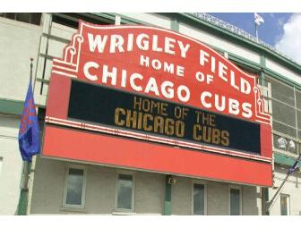2 Tickets to Cubs vs. Tigers on June 13 @ Wrigley + Autograph Photo of Tony Campana