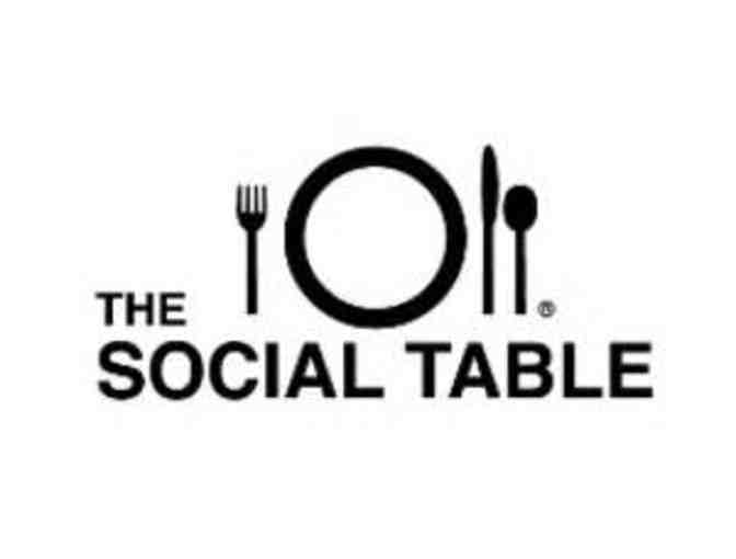 The Social Table - 2 seats at one of their open cooking classes