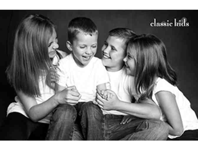 Classic Kids Weekday Photography Portrait Package for 2 plus 8x10 fine art print