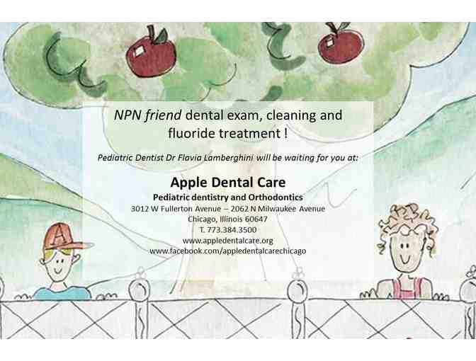 Exclusive dental care for kids: cleaning, exam, educational tips & fluoride -Apple Dental