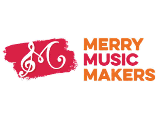 $100 towards any group class, summer camp or private instrument from Merry Music Makers!