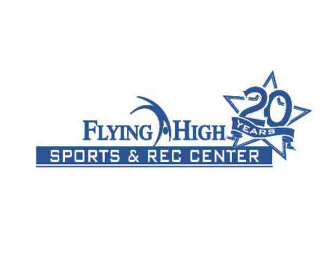 Open Gym Birthday Party  for up to 12 kids at Flying High Sports & Rec Center