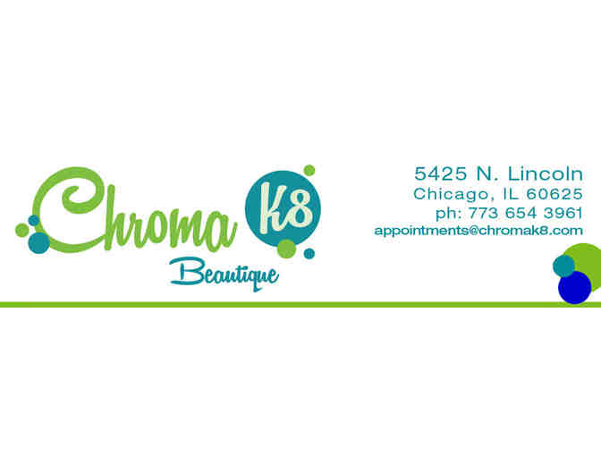 Men or women's haircut at Chroma K8 Beautique