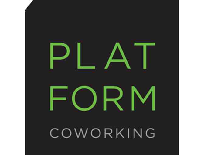 1 Monthly Flex Desk Membership from Platform Coworking