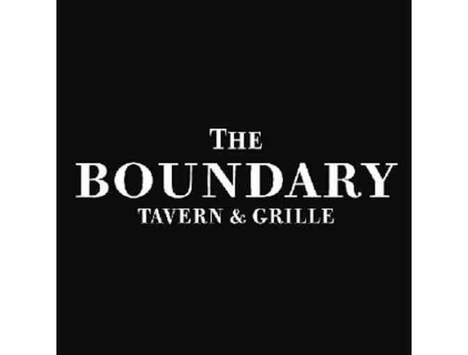$50 Gift Card to The Boundary