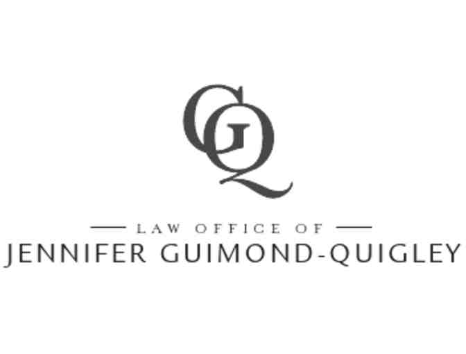 One hour consultation for any family law matter- Law Office of Jennifer Guimond-Quigley