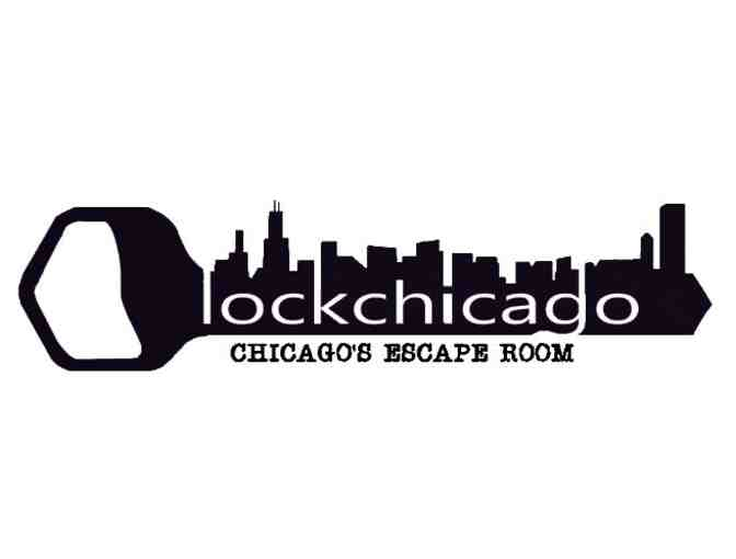 Escape Room Package for up to 10 people from Lock Chicago