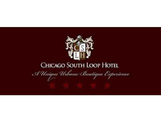 Gfit Card for a One Night Stay at the Chicago South Loop Hotel