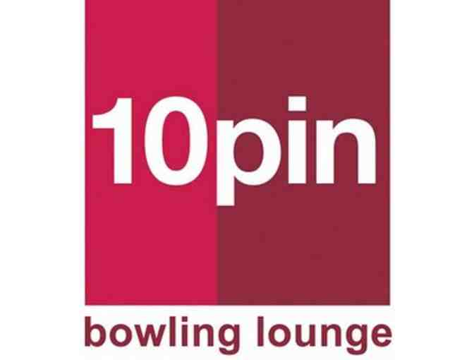 10 Pin Bowling Lounge for 8 guests!