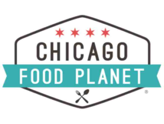 $120 eCertificate to any Chicago Food Planet Food Tours Experience