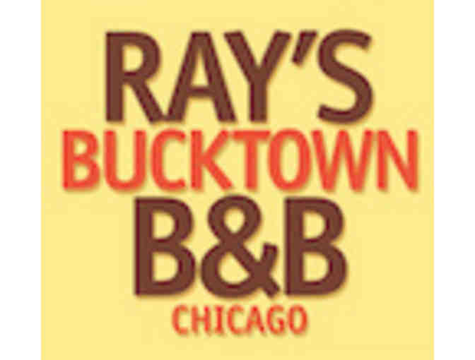 $100 Gift Certificate for Ray's Bucktown Bed & Breakfast!