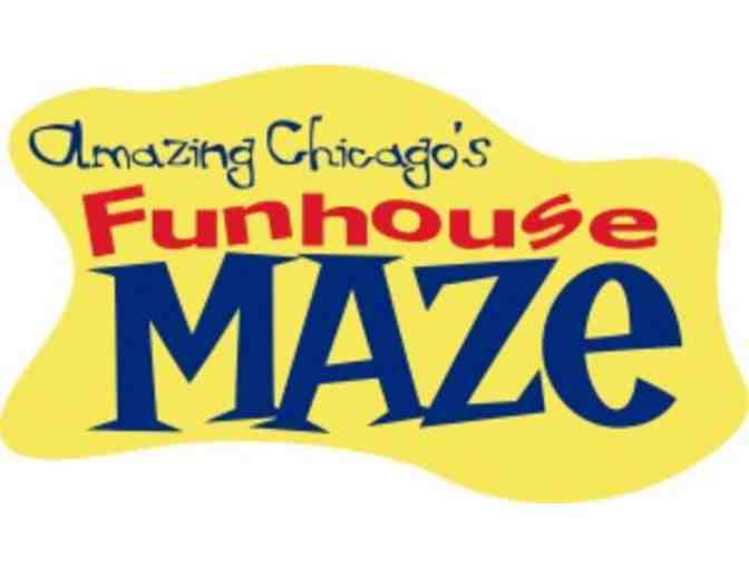 Amazing Chicago's Funhouse Maze on Navy Pier!