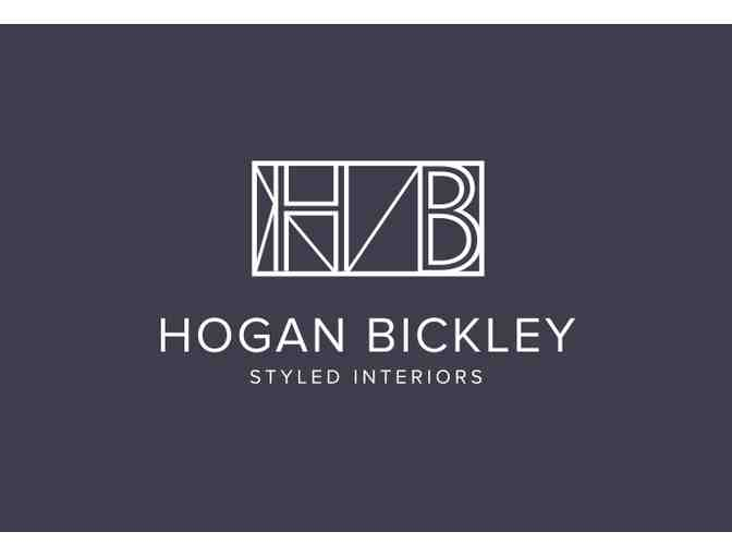 Interior Design Consultation: 2 Hours with Hogan Bickley Styled Interiors