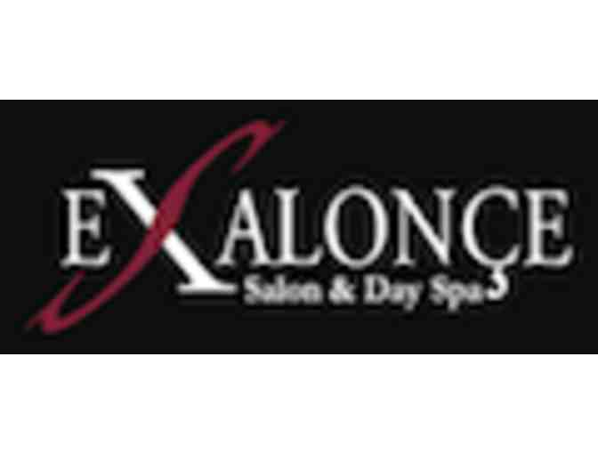 Haircut & Style, Eyebrow Wax at Exsalonce Salon