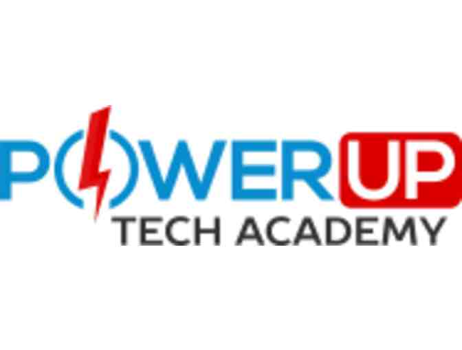 $100 Gift Certificate for any Power Up Tech Academy 2018 Summer Camp or Class $200 or more