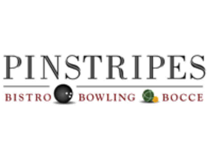 Brunch & Bocce for 4 at Pinstripes