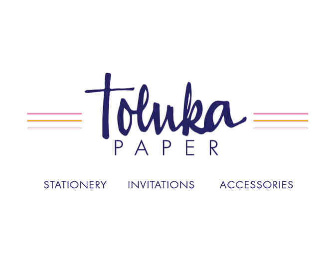 $50 Gift Certificate to Toluka Paper
