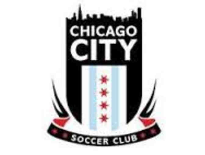 1 Week of Half Day Summer Soccer Camp from Chicago City Soccer Club