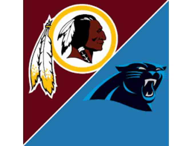 Redskins Tickets for Two - Redskins vs. Panthers on 10/4 - Photo 1