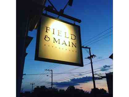 A Feast for Two at Field & Main Restaurant