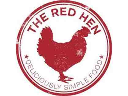 $100 gift card for The Red Hen