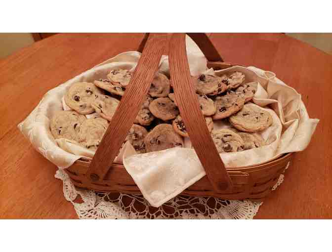 Basket of Chocolate Chip Cookies - Photo 1