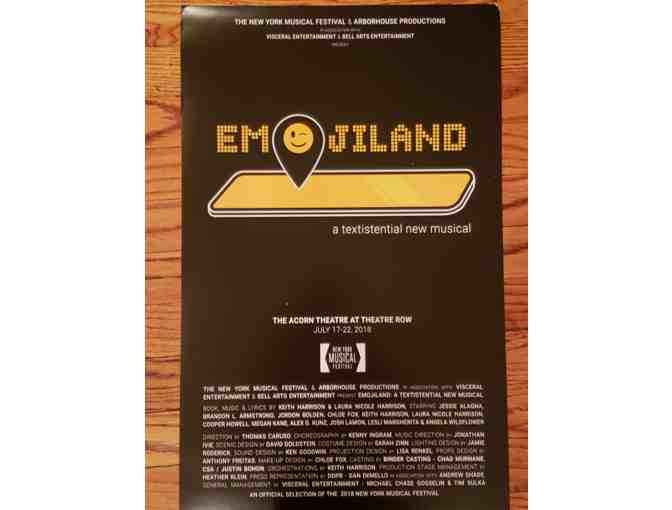 Emojiland Poster (NYMF 2018 Production)